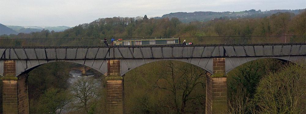 Pontcysyllte Aqueduct Aerial Filming