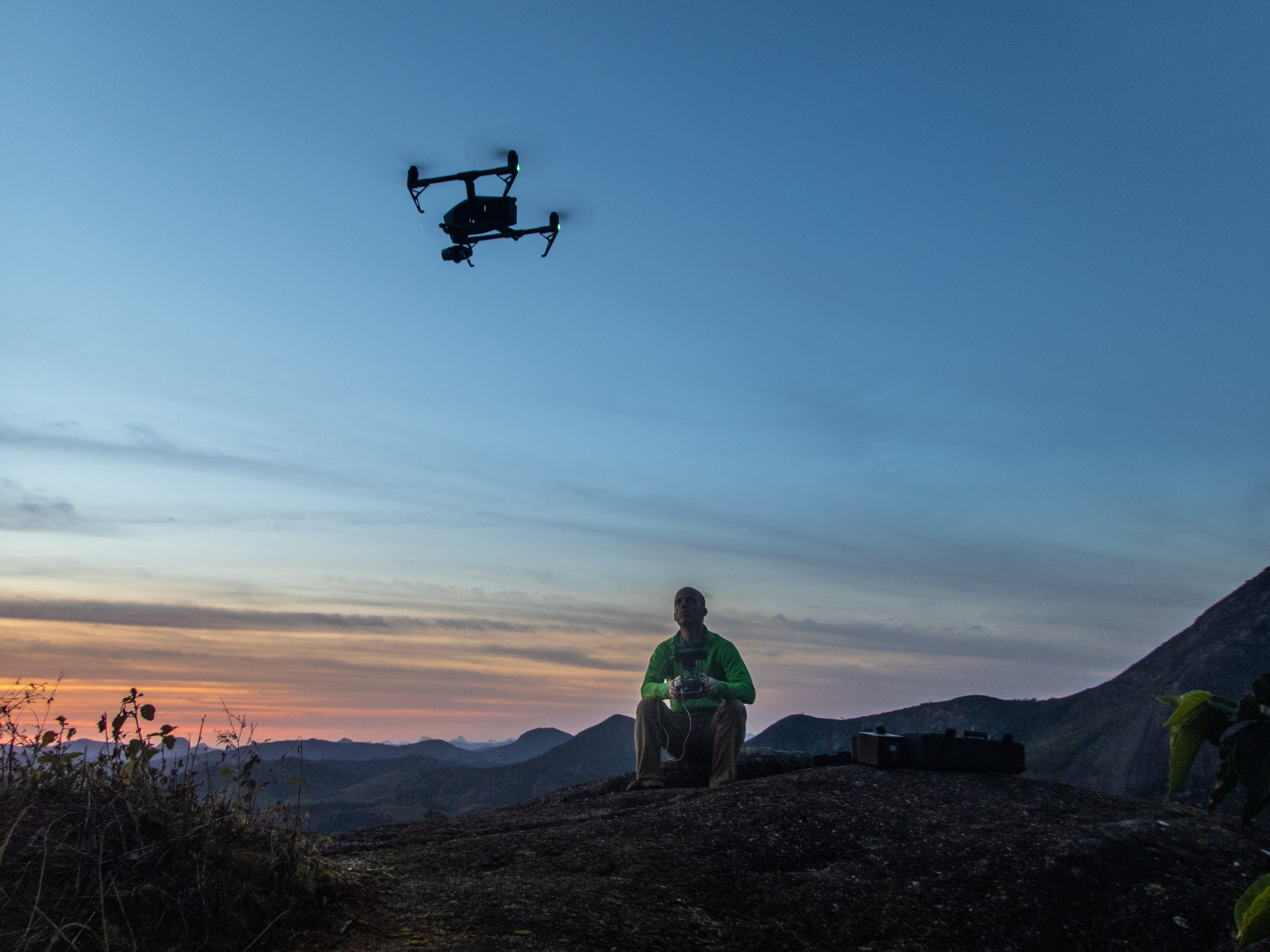 Aerial Filming Service using Drones