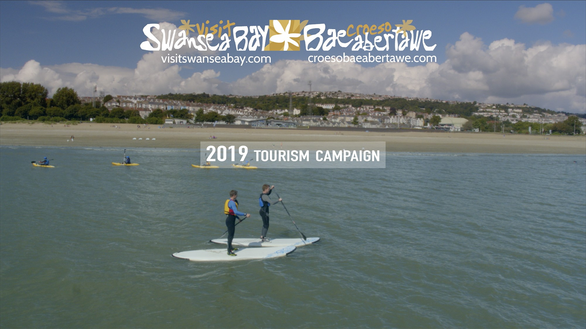2019 Visit Swansea Bay Video Campaign