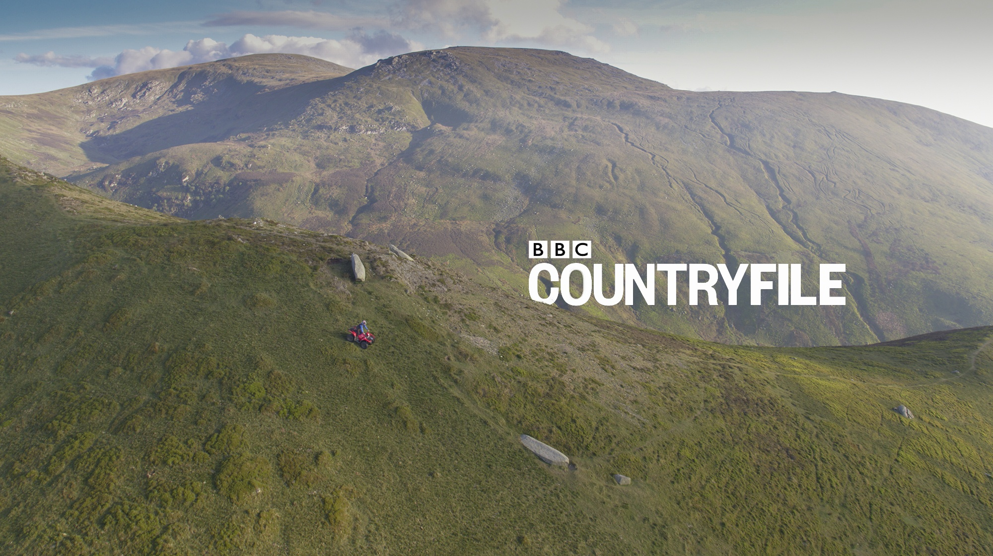 Aerial Filming Snowdonia BBC Countryfile